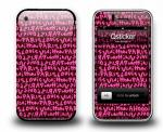 Наклейка на iPhone 3Gs - Louis Vuitton Pink