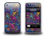 Наклейка на iPhone 3Gs - Flowers Violet