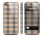 Винил Qsticker для iPhone 5 - дизайн Burberry
