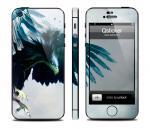 Наклейка Qsticker на iPhone 5 - дизайн Eagle
