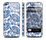 Скин Qsticker для iPhone 5 - дизайн Gzhel