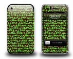 Наклейка на iPhone 3Gs - Louis Vuitton Green