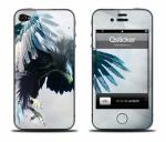 Виниловая наклейка на iPhone 4 - Eagle