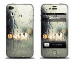Наклейка на iPhone 4 - Rain
