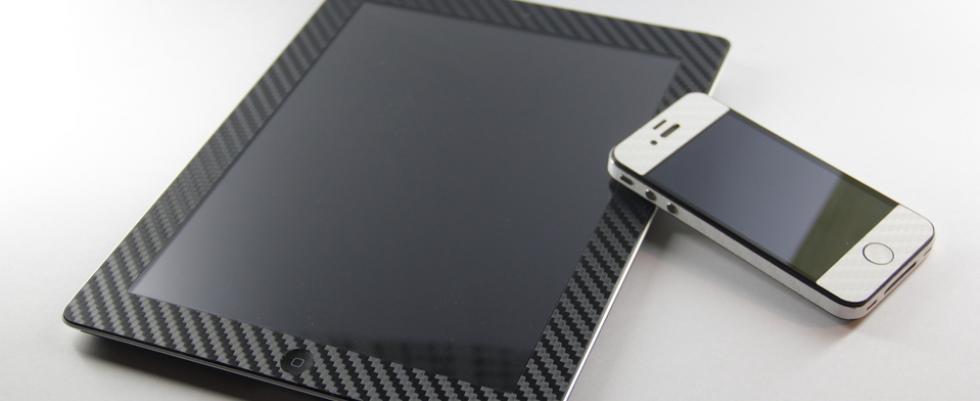 Наклейки карбоновые для iphone
