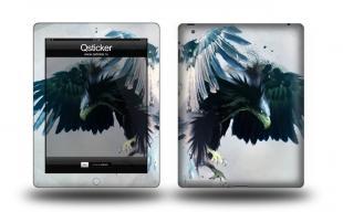 Наклейка виниловая на iPad 3 - Eagle