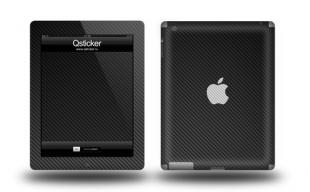 Черный карбон на Apple iPad 3