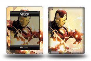 Винил для Apple iPad 2 - Iron Man