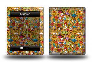 Наклейка для iPad 3 - ClipArt Yellow