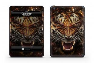 Винил для iPad Mini - Tiger Face