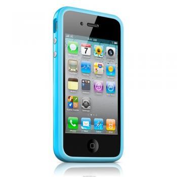 bumper iPhone 4/4s - синий