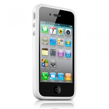 bumper iPhone 4/4s - белый