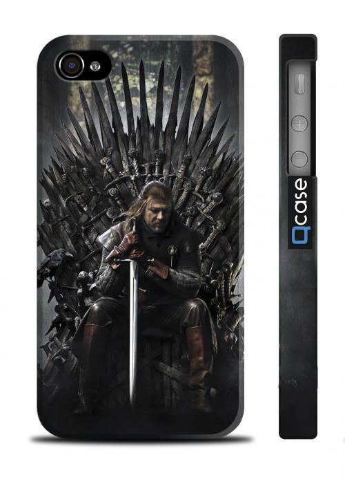 Чехол с фото для iPhone 4/4S - serial Game of Thrones