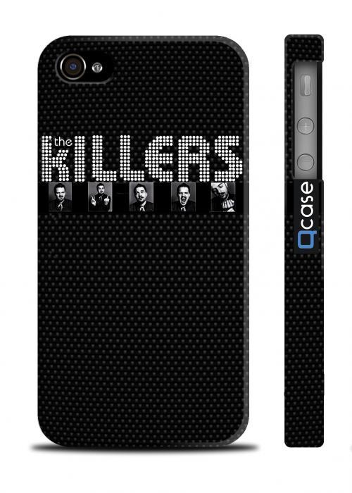 Крутой чехол с сериалом для iPhone 4/4S - The Killers Black