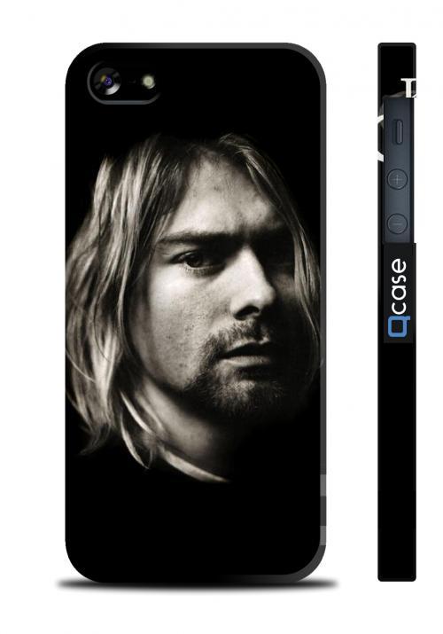 Чехол для iPhone 5/5S, Киев - Kurt Cobain on Black