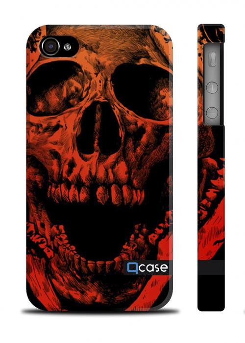 Крутой чехол QCase iPhone 4/4S, Киев - Death