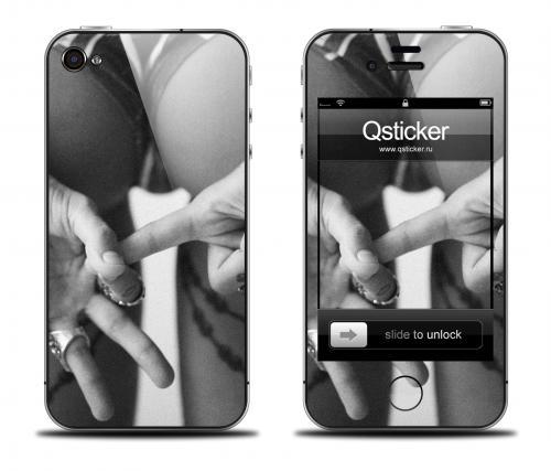 Наклейка на iPhone 4/4S - дизайн Tikhomirov Flag