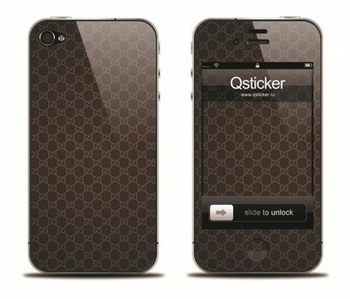 Наклейка на iPhone 4 - Gucci