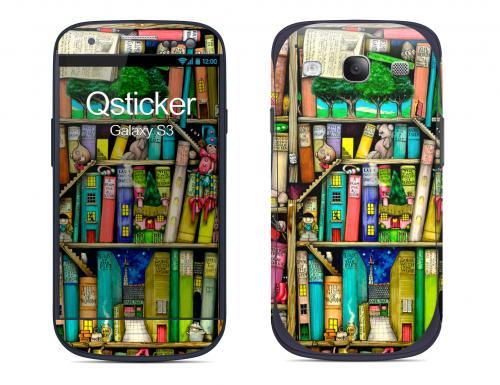 Наклейка на Samsung Galaxy S3 - Books