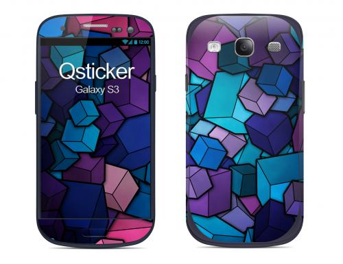 Наклейка на Samsung Galaxy S3 - Cube