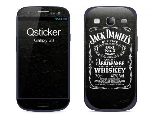 Наклейка на Samsung Galaxy S3 - Jack Daniels