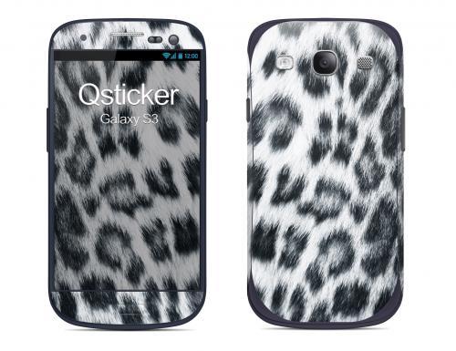 Наклейка на Samsung Galaxy S3 - Снежный леопард