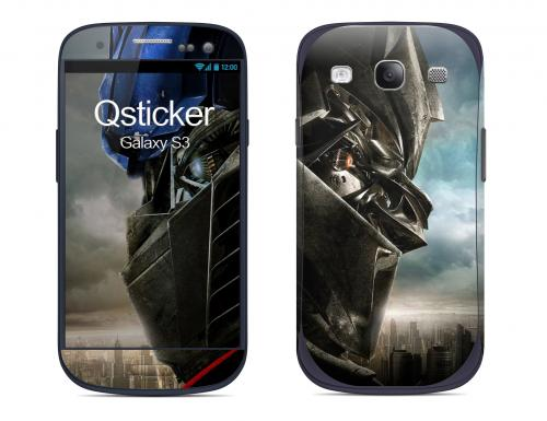 Наклейка на Samsung Galaxy S3 - Transformes