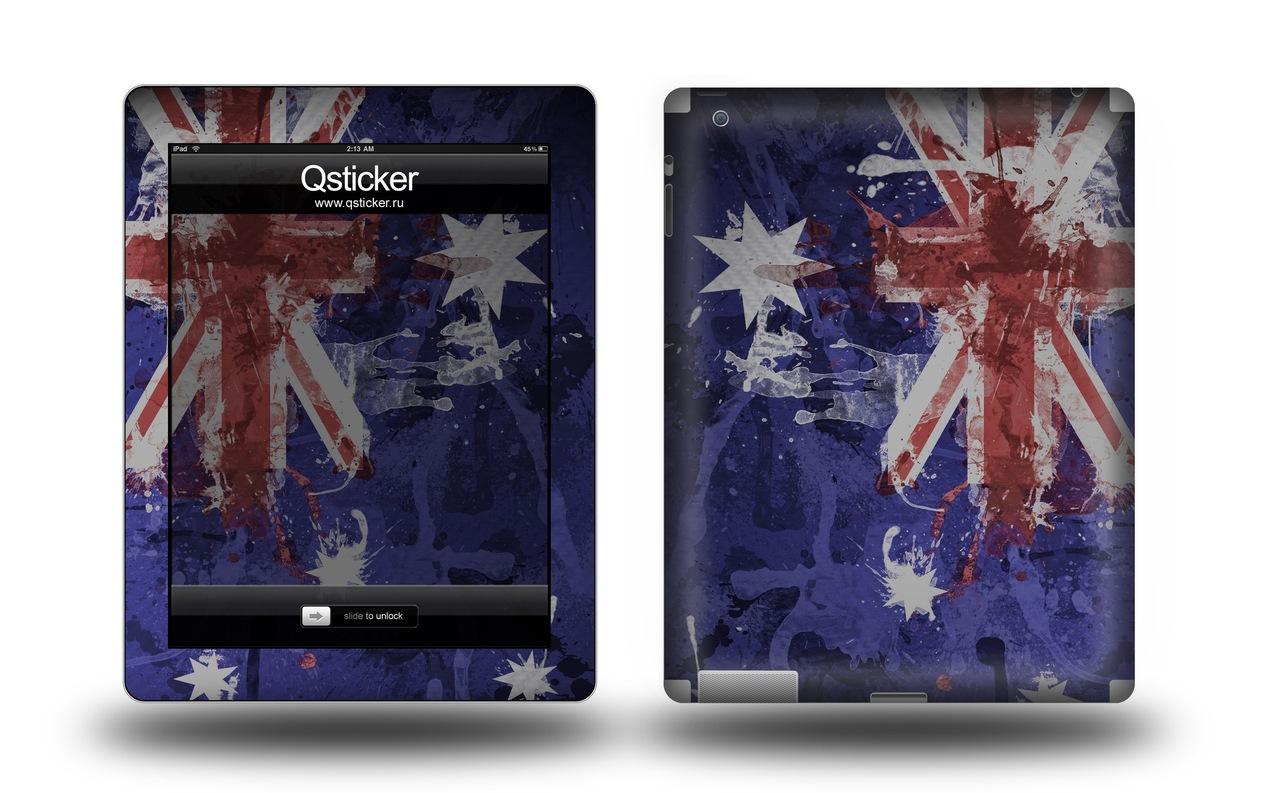 наклейка виниловая на Телефон Sony Xperia Go ST27i с темой Флаг великобритания2.