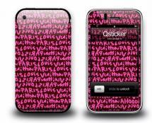 Наклейка на iPhone 3Gs - Louis Vuitton Pink