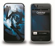 Наклейка на iPhone 3Gs - Dragon