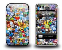 Наклейка на iPhone 3Gs - Logos