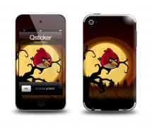Наклейка на Apple iPod Touch 4 - AngryBirds1