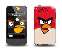 Наклейка на Apple iPod Touch 4 - AngryBirds2