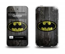 Наклейка на Apple iPod Touch 4 - Batman