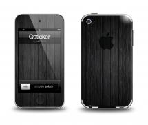 Наклейка на Apple iPod Touch 4 - Blackwood