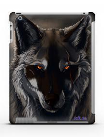 Накладка на iPad 2/3/4 - Qcase Wolf