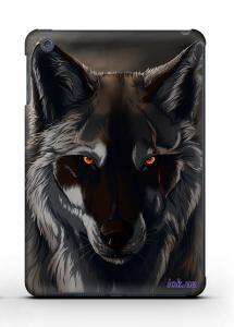 Накладка на iPad Mini 1/2 - Qcase Wolf