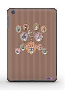 Накладка на iPad Mini 1/2 - Qcase Cats Family