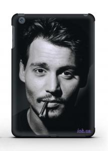 Накладка на iPad Mini 1/2 - Qcase Johny Depp