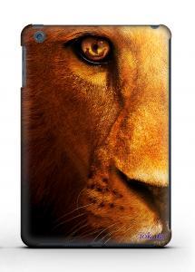 Накладка на iPad Mini 1/2 - Qcase Lion Face