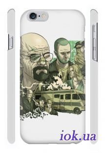 """Заказать 3D чехол Qcase на iPhone 6 Plus - Сериал """"Во все тяжкие"""""""