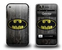 Наклейка на iPhone 3Gs - Batman