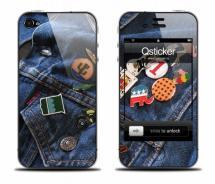 Виниловая наклейка на iPhone 4 - Jeans