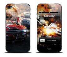 Виниловая наклейка на iPhone 4 - Cars