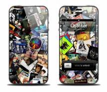 Виниловый скин на iPhone 4 - Albums