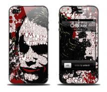 Наклейка для iPhone 4 - Joker
