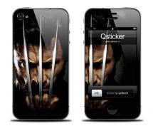 Наклейка для iPhone 4 - Logan