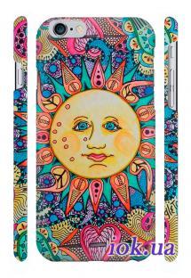 Заказать печать на чехле Qcase на iPhone 6 Plus, Киев - Sun