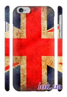 Пластиковая накладка Qcase на iPhone 6 - Union jesk
