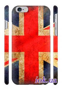 Чехол Qcase с печатью на iPhone 6 Plus, Киев - Юнион Джек